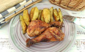 куриные голени с соевым соусом