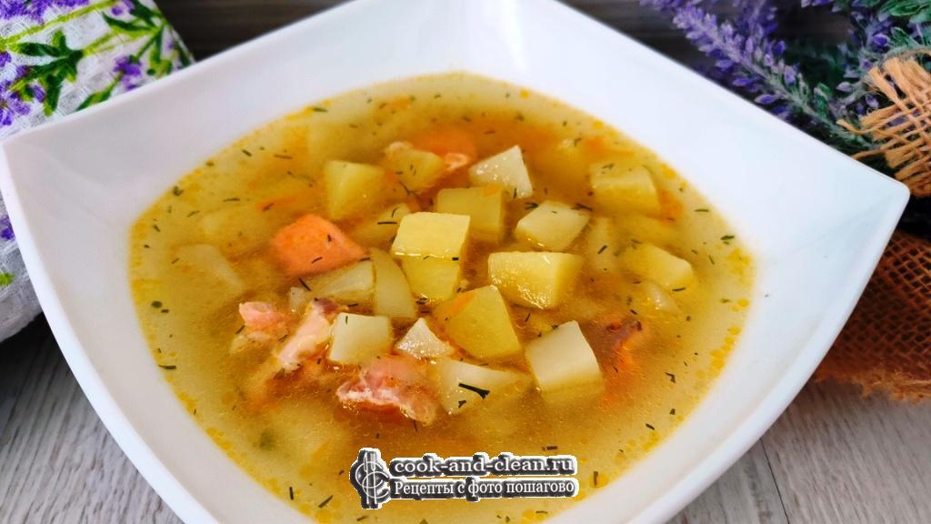 Рыбный суп с картофелем