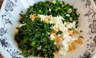 салат из огурцов и зеленого лука с фото