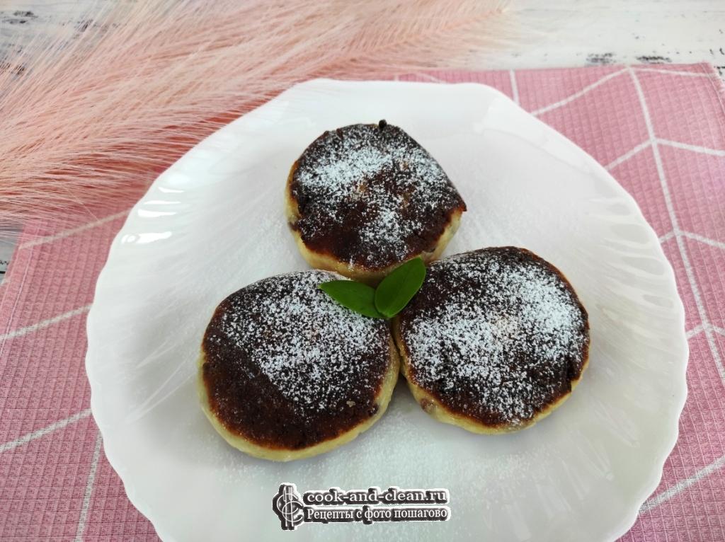 сырники из творога с изюмом пошаговый рецепт