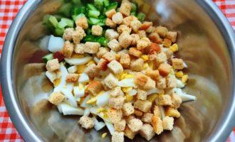 салат из редиски пошагово