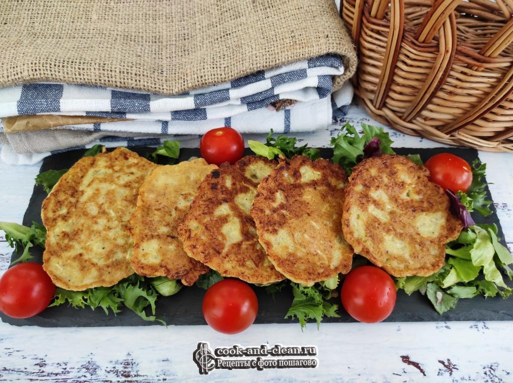кабачковые оладьи пп рецепт