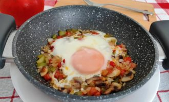 как приготовить вкусная яичница