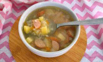 рисовый суп с колбасой рецепт